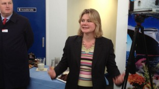 Justine Greening, Transport minister