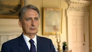 Philip Hammond warned the Kremlin it was under scrutiny.