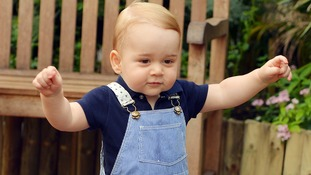 Prince George will celebrate his first birthday with his proud parents on July 22.