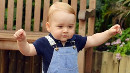 Prince George photograph released to mark first birthday