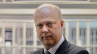 Chris Grayling says injury compensation claims have become 'a real headache' for firms.