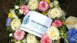 warwickshire police wreath