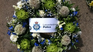 leicestershire police wreath