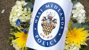west midlands police wreath