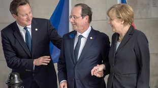 The three leaders agreed that Vladimir Putin must do more to ensure free access to the MH17 site.