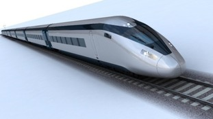 A possible design of what the HS2 trains could look like