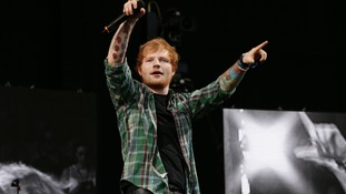 Ed Sheeran's album X is the best selling of the year so far.