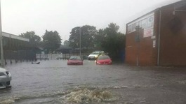 South east flash floods hit Essex and Kent