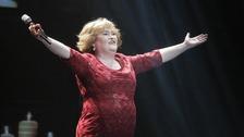 Britain's Got Talent star Susan Boyle to carry Games baton.