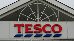 Tesco said the first half of this year has seen sales and profits 'below expectations'.