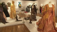 The exhibition highlights the evolution of fashion