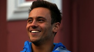 Tom Daley's plane makes emergency landing