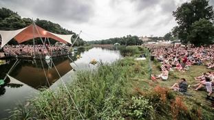 The 17-year-old fell ill at the Latitude festival.