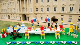Prince George's 1st birthday party gets underway at Legoland