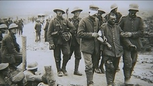 Captured British soldiers.