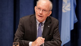 Unicef executive director Anthony Lake