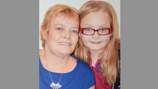 Maddie with her mother Gail