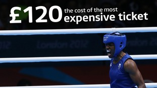 Tickets to see the likes of Nicola Adams are among the most expensive on offer.
