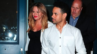 Kimberly Walsh and partner Jason