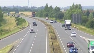 Two pedestrians who were killed on the A47 in Norfolk on Sunday had asked someone to call the police shortly before their deaths.