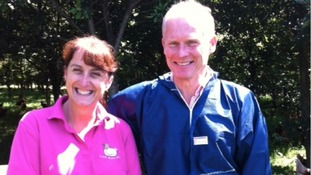 Helen and David Brasstheir are owners of The Lakes Free Range Egg Company