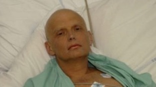 Alexander Litvinenko shortly before his death.