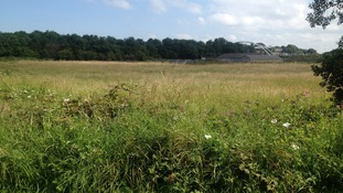 The site of the planned new leisure centre at Cloffocks