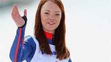 Winter Paralympian Jade Etherington will be honoured by her former university today