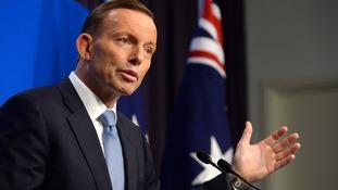 Australian PM Tony Abbott.