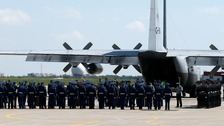 MH17 victims' bodies flown to Netherlands