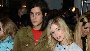 Peaches Geldof and Thomas Cohen pictured together in February last year.