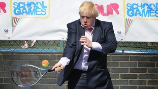 A tennis match involving Boris Johnson and David Cameron has come under scrutiny.