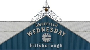 Hillsborough stadium sign