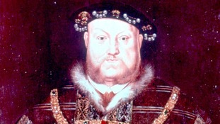 Henry VIII was thought to have suffered from gout - once known as 'the disease of king'.
