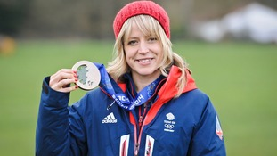 Olympic bronze medal winner Jenny Jones