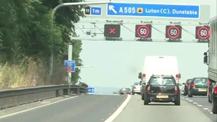 The Highways Agency's issued a new warning to drivers that it's illegal to stop on the hard shoulder.