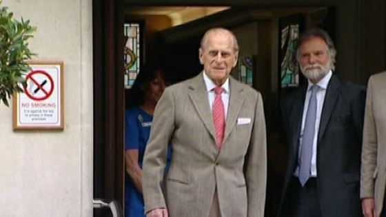 Prince Philip not well enough for Midlands trip