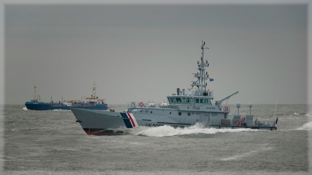 Coastguard cutter