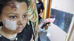 The conflict has seen children on both sides injured and killed.