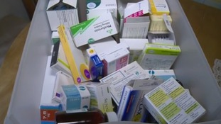 Just some of the medication she has been given