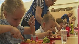 Gearing up for free school meals for infant pupils