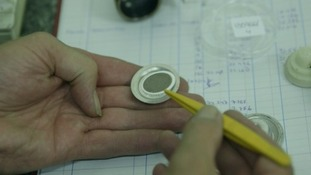 Samples are measures against health and safety standards.