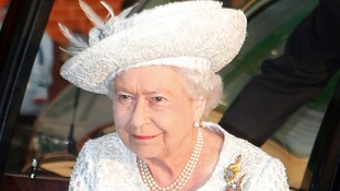 The Queen at the Commonwealth Games opening Ceremony in Glasgow.