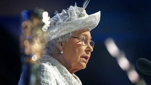 The Queen officially declares the Games open.