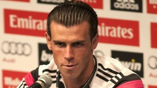 Gareth Bale at press conference