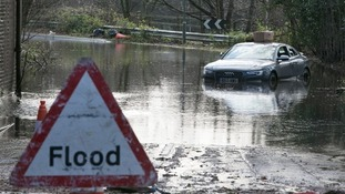 Chertsey in Surrey was one of the areas hit by floods last Christmas.