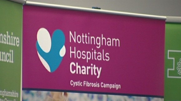Nottinghamshire County Council is backing the Cystic Fibrosis Campaign