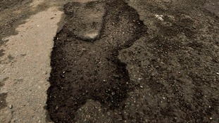Repairing potholes is high on the council's agenda
