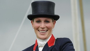 Zara Philips will compete as part of Team GB's equestrian team.
