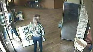 CCTV of Worzals store